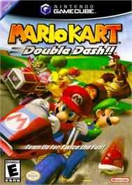 Box cover for Mario Kart: Double Dash on the Nintendo GameCube.