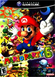 Box cover for Mario Party 6 on the Nintendo GameCube.