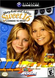 Box cover for Mary-Kate and Ashley: Sweet 16: Licensed to Drive on the Nintendo GameCube.
