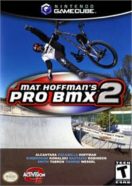 Box cover for Mat Hoffman's Pro BMX 2 on the Nintendo GameCube.