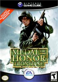 Box cover for Medal of Honor: Frontline on the Nintendo GameCube.