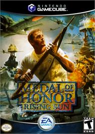 Box cover for Medal of Honor: Rising Sun on the Nintendo GameCube.