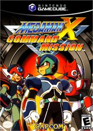 Box cover for Mega Man X: Command Mission on the Nintendo GameCube.