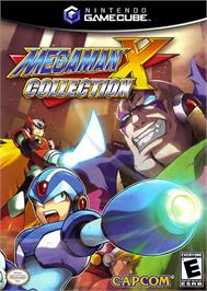 Box cover for Mega Man X Collection on the Nintendo GameCube.