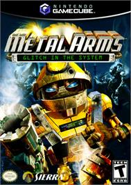 Box cover for Metal Arms: Glitch in the System on the Nintendo GameCube.