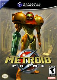 Box cover for Metroid Prime on the Nintendo GameCube.