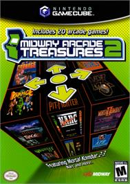 Box cover for Midway Arcade Treasures 2 on the Nintendo GameCube.