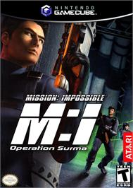 Box cover for Mission Impossible: Operation Surma on the Nintendo GameCube.