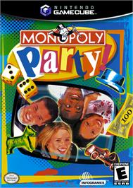 Box cover for Monopoly Party on the Nintendo GameCube.