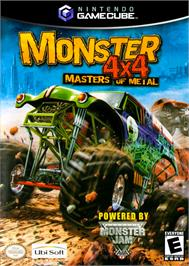 Box cover for Monster 4x4: Masters of Metal on the Nintendo GameCube.