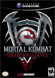 Box cover for Mortal Kombat: Deadly Alliance on the Nintendo GameCube.