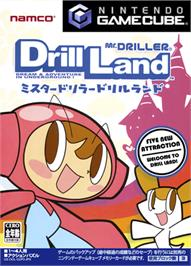 Box cover for Mr. Driller: Drill Land on the Nintendo GameCube.