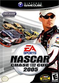 Box cover for NASCAR 2005: Chase for the Cup on the Nintendo GameCube.