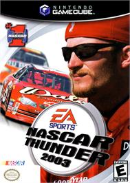 Box cover for NASCAR Thunder 2003 on the Nintendo GameCube.