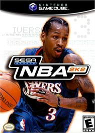 Box cover for NBA 2K2 on the Nintendo GameCube.