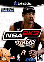 Box cover for NBA 2K3 on the Nintendo GameCube.