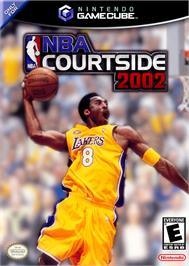 Box cover for NBA Courtside 2002 on the Nintendo GameCube.