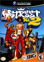 Box cover for NBA Street Vol. 2 on the Nintendo GameCube.