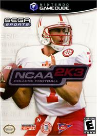 Box cover for NCAA College Football 2K3 on the Nintendo GameCube.