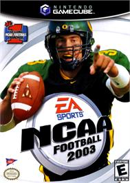 Box cover for NCAA Football 2003 on the Nintendo GameCube.