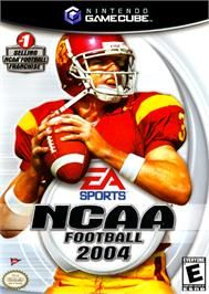 Box cover for NCAA Football 2004 on the Nintendo GameCube.