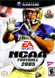 Box cover for NCAA Football 2005 on the Nintendo GameCube.