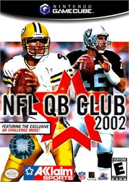 Box cover for NFL Quarterback Club 2002 on the Nintendo GameCube.