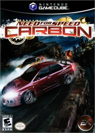 Box cover for Need for Speed: Carbon on the Nintendo GameCube.