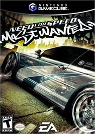 Box cover for Need for Speed: Most Wanted on the Nintendo GameCube.
