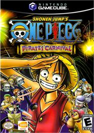 Box cover for One Piece: Pirates' Carnival on the Nintendo GameCube.