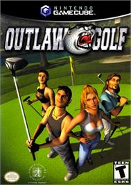 Box cover for Outlaw Golf/Darkened Skye on the Nintendo GameCube.