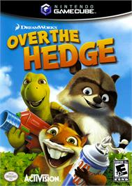 Box cover for Over the Hedge on the Nintendo GameCube.