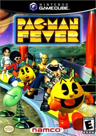 Box cover for Pac-Man Fever on the Nintendo GameCube.