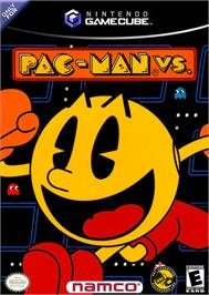 Box cover for Pac-Man Vs./Pac-Man World 2 on the Nintendo GameCube.