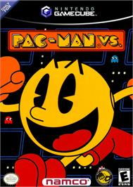 Box cover for Pac-Man Vs. on the Nintendo GameCube.