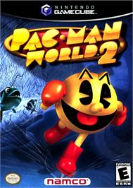 Box cover for Pac-Man World 2 on the Nintendo GameCube.