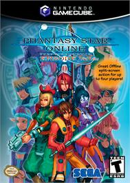 Box cover for Phantasy Star Online Episode I & II Plus on the Nintendo GameCube.