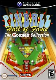 Box cover for Pinball Hall of Fame: The Gottlieb Collection on the Nintendo GameCube.