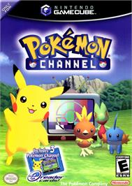 Box cover for Pokemon Channel on the Nintendo GameCube.