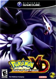 Box cover for Pokemon XD: Gale of Darkness on the Nintendo GameCube.