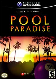 Box cover for Pool Paradise on the Nintendo GameCube.