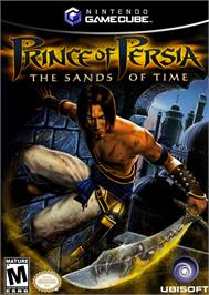 Box cover for Prince of Persia: The Sands of Time on the Nintendo GameCube.