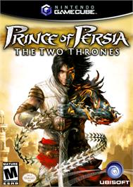 Box cover for Prince of Persia: The Two Thrones on the Nintendo GameCube.