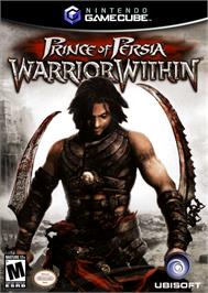 Box cover for Prince of Persia: Warrior Within on the Nintendo GameCube.