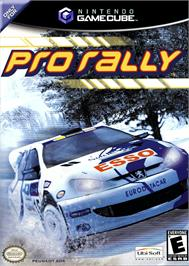 Box cover for Pro Rally on the Nintendo GameCube.