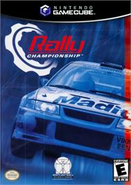 Box cover for Rally Championship on the Nintendo GameCube.