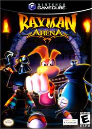 Box cover for Rayman Arena on the Nintendo GameCube.