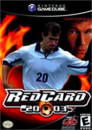 Box cover for RedCard 20-03 on the Nintendo GameCube.