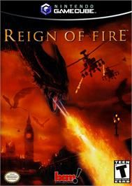Box cover for Reign of Fire on the Nintendo GameCube.