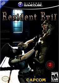 Box cover for Resident Evil: Code: Veronica X on the Nintendo GameCube.